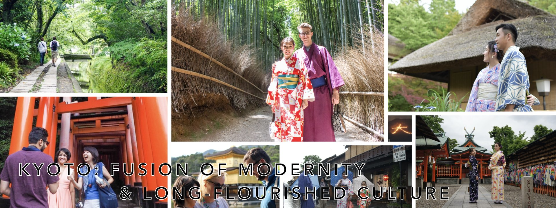 Kyoto: Fusion of modernity and long-flourished culture