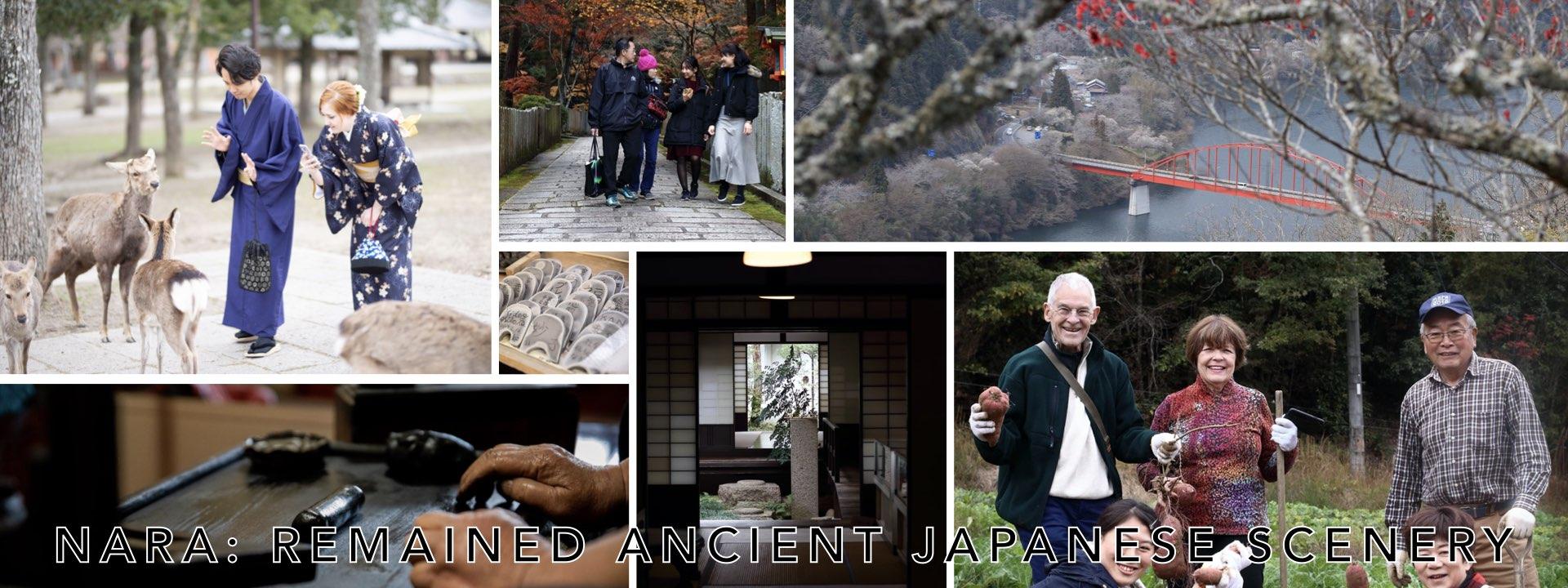 Nara: Remained ancient Japanese scenery
